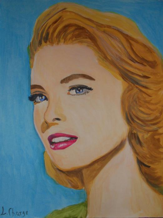 Grace Kelly by Lindasart
